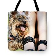 Fuzzy Dogs Tote Bag