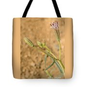 Fuzzy Flower Tote Bag