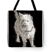 Fuzzy Molly Tote Bag