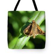Fuzzy Moth Tote Bag