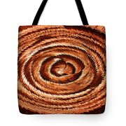 Fuzzy Rock Abstract Tote Bag