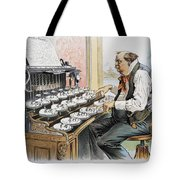 G. Cleveland Cartoon, 1893 Tote Bag