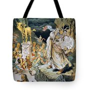 G. Cleveland Cartoon Tote Bag