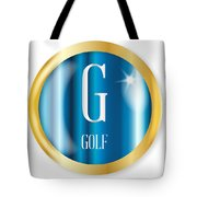 G For Golf Tote Bag