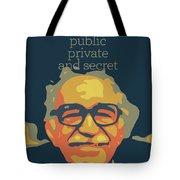Gabriel Garcia Marquez Tote Bag