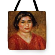 Gabrielle In A Red Blouse 1913 Tote Bag