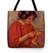 Gabrielle Mending 1908 Tote Bag