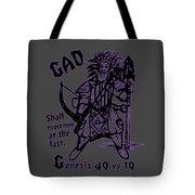 Gad At The Last-purple Trim Tote Bag