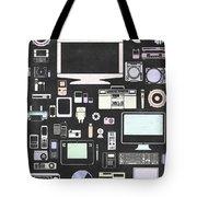 Gadgets Icon Tote Bag by Setsiri Silapasuwanchai