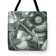 Gadgets Of Sorts Tote Bag by Angelique Bowman