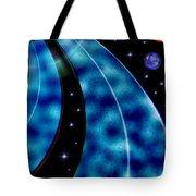 Galactic Autobahn Tote Bag