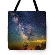 Galactic Dirt Road Tote Bag