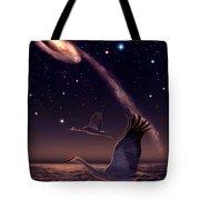Galactic Migration Tote Bag