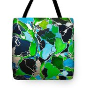 Galactic Puzzle Tote Bag