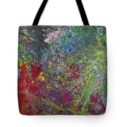 Galactic Spring_by Aatmica Tote Bag