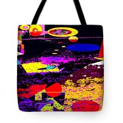 Galactic Voyages Tote Bag