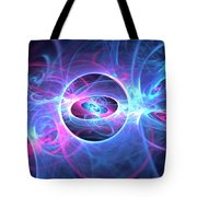 Galaxy Atoms Tote Bag