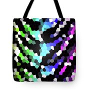 Galaxy In Time Abstract Design Tote Bag