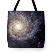 Galaxy Swirl Tote Bag