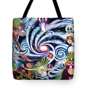 Galaxy To Galaxy Tote Bag