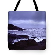 Gale Winds At Nubble Light Tote Bag
