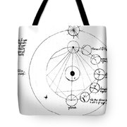 Galen, Phases Of The Moon, Diagram Tote Bag