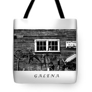 Galena Antiques Tote Bag