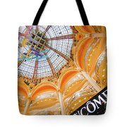 Galeries Lafayette Inside Art Tote Bag