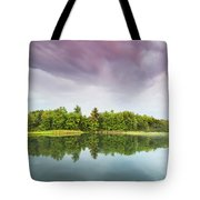 Gale's Pond Early In The Morning Tote Bag