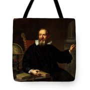 Galileo Galilei, Italian Astronomer Tote Bag