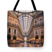 Galleria Milan Italy II Tote Bag
