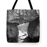 Gallery Entrance At Creevykeel Court Cairn Ireland Tote Bag