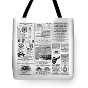 Gallery Image - Advertising Tote Bag by Richard Reeve