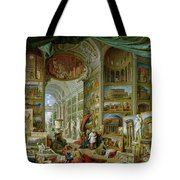 Gallery Of Views Of Ancient Rome Tote Bag