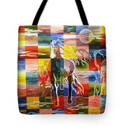 Galloping In The Night Tote Bag