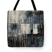 Galvanized Paint Number 1 Horizontal Tote Bag