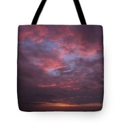 Galveston Texas Sunset Tote Bag