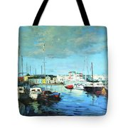 Galway Docks Tote Bag