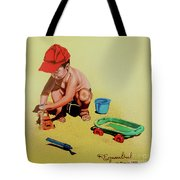 Game At The Beach - Juego En La Playa Tote Bag