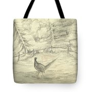 Game Bird By W  Buelow Gould  C 1835  Tote Bag
