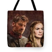 Game Of Thrones. Cersei And Jaime. Tote Bag