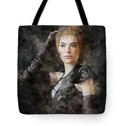 Game Of Thrones. Cersei Lannister. Tote Bag