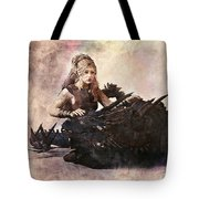 Game Of Thrones. Daenerys. Mother Of The Dragons. Tote Bag