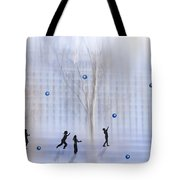Game With Ball Tote Bag