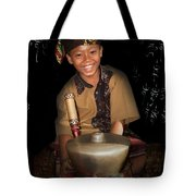 Gamelan Tote Bag
