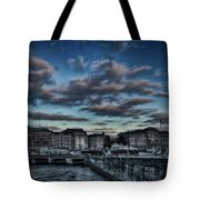 Stockholm In Dark Tote Bag