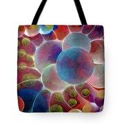 Gamma Burst II Abstract Pattern Art Tote Bag