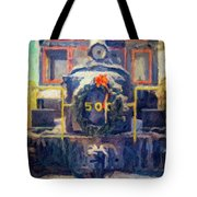 Gananoque Train Holiday Cheer Tote Bag