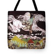 Gandalf And Shadowfax Tote Bag