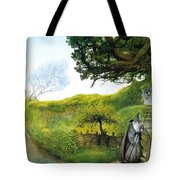 Gandalf Houses Tolkien The Magician Tote Bag
